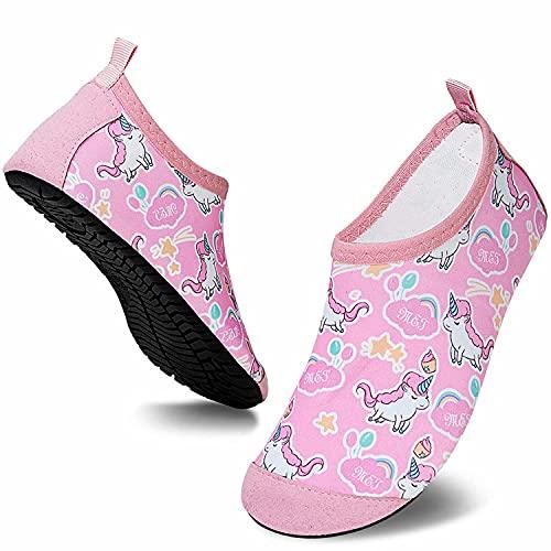 Somic Zapatos de Agua Niños Barefoot Calcetines de Natación Niñas Zapatos De NatacióN...