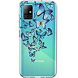 SGKITM Carcasa Samsung A51/A71 Transparente Suave...