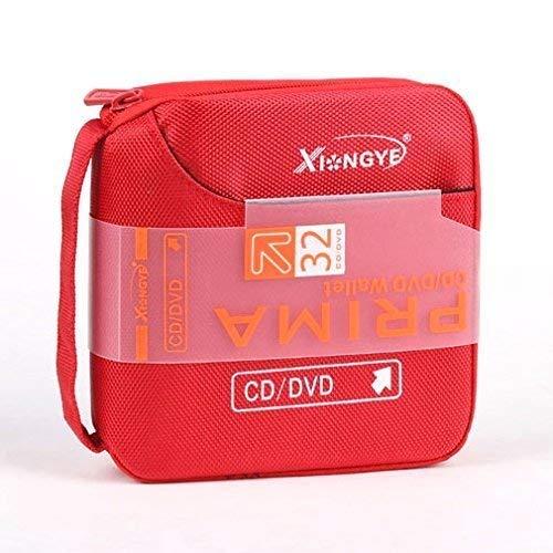 Astuccio porta cd con 32slot, per CD, DVD, custodia rigida