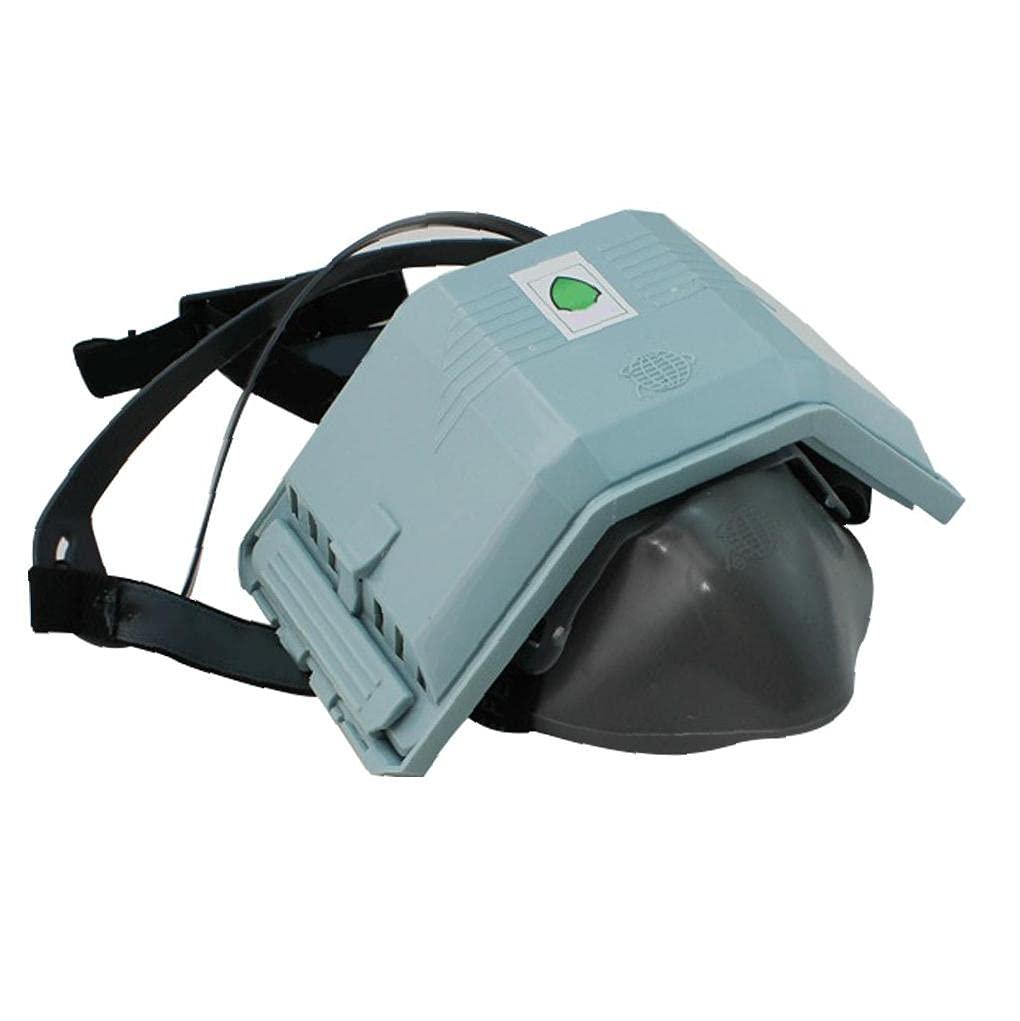 Equipo de seguridad, Polvo reutilizable anti-partículas de silicona Medio respirador de polvo para pintura Máquina pulido