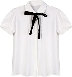 Best white bib blouse Reviews