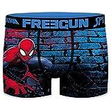 Photo de FREEGUN Boxer Homme Spider Man Street Bleu et Rouge
