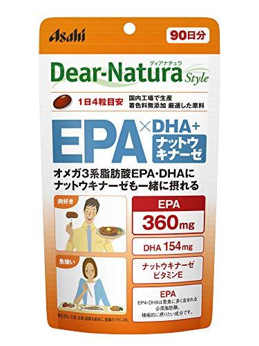 ディアナチュラスタイル EPA×DHA+ナットウキナーゼ 360粒(90日)