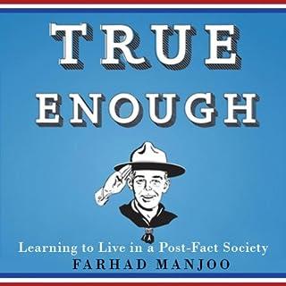 True Enough audiobook cover art