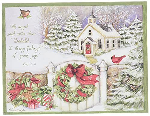 """LANG 1004676 -""""Gifts of Christmas"""", Boxed Christmas Cards, Artwork by Susan Winget"""" - 18 Cards, 19 envelopes - 5.375"""" x 6.875"""""""
