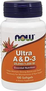 Now Supplements, Vitamin A & D3 25,000/1,000 IU, 100 Softgels
