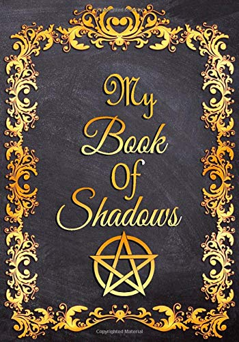 """MY Book of Shadows: Dot Grid Journal For Wiccans, Magic Spell Book, Potion Log, Magic Notebook Witches, Mages, Druids… 