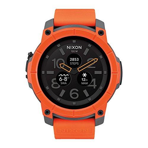 Nixon Reloj Analógico para Hombre de Cuarzo con Correa en Silicona A1167-2658-00