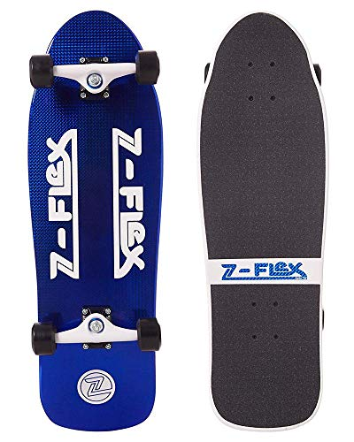 Z-Flex Cruiser Jay Adams Shadow Lurker Skateboard, Unisex, Erwachsene, Blau (Blue Crystal), 31.25 x 9.75