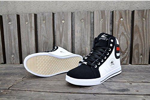 Gaorui Lot Fashion Men Casual Shoe High Top Sport Outdoor Athletic Running Sneaker Boot Gold