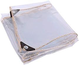 Schaduw en regendicht pooltafelhoes Transparant zeildoek, Bestand Helder PVC Heavy Duty Waterdicht Tarp Multifunctioneel M...
