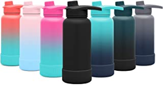 Simple Modern Summit Water Bottle with Chug Lid & Protective Boot - Wide Mouth Vacuum Insulated - 4 Sizes & 20 Colors