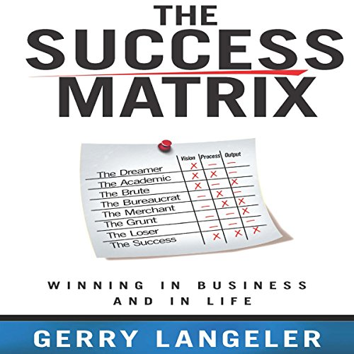 The Success Matrix audiobook cover art