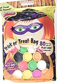 Play-Doh Halloween Trick or Treat Bag with 80 Fun Size Cans 0.80oz Each