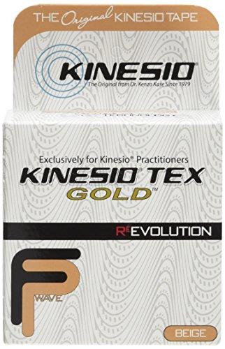 Kinesio Kinesiology Tape - 2' x 16.4' - Beige - pack of 3