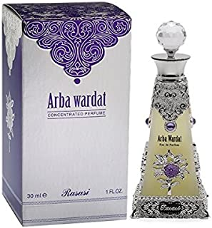 Arba Wardat for Men and Women (Unisex) CPO – Concentrated Perfume Oil (Attar) 30 ML..