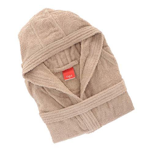 Gabel 09800 23 Albornoz, 100% algodón, 100% algodón, Beige, 1x1x1 cm