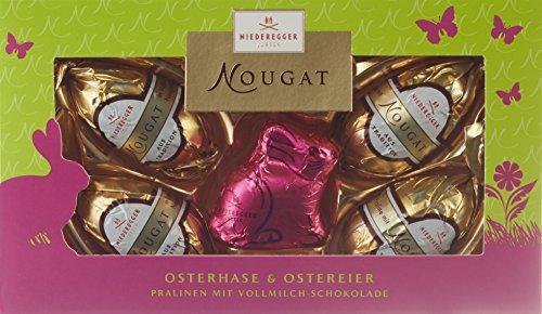 Niederegger Eier mit Nougat-Hase, 5er Pack (5 x 85 g)