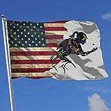Elaine-Shop Banderas al Aire Libre Bandera de EE. UU. Conciencia...