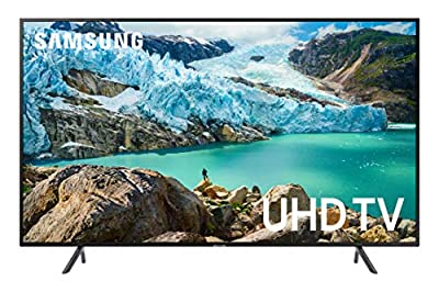 Samsung UN50RU7100FXZA Flat 50-Inch 4K UHD 7 Series Ultra HD Smart TV with HDR and Alexa Compatibility (2019 Model) by Samsung
