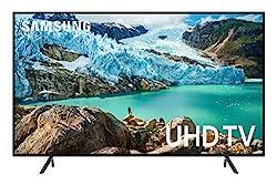 Samsung UN58RU7100FXZA Flat 58-Inch 4K UHD 7 Series Ultra HD Smart TV with HDR and Alexa Compatibility (2019 Model)