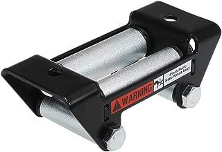 Argent Gazechimp Kit De Montage De Guide-c/âble Hawse en Aluminium pour Corde De Treuil Synth/étique ATV