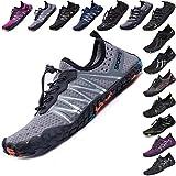 Mens Women Water Sport Shoes Barefoot Quick-Dry Aqua Socks for...