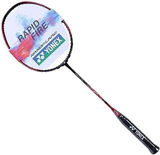 YONEX 尤尼克斯 羽毛球拍疾光系列超轻全碳素羽拍 NF-270 已穿线 送手胶 红色