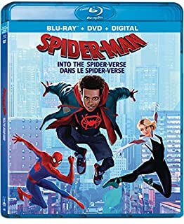 Spider-Man: Into The Spider-Verse (Bilingual) - Blu-ray + DVD + Digital Combo Pack (B07LFWH37Y) | Amazon price tracker / tracking, Amazon price history charts, Amazon price watches, Amazon price drop alerts