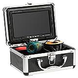 KKmoon Fischfinder Kamera 30M Unterwasser HD 1200TVL für EIS/Sea/Fluss Angeln mit 7 Zoll LCD...