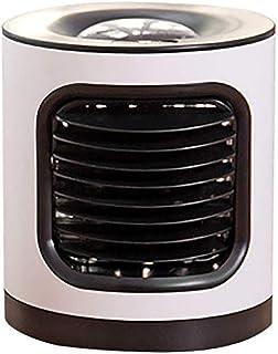 MerryWould Air Cooler Humidificador,Aire Acondicionado Portátil con Mango Oficina Ventilador de Escritorio Mini Ventilador para el hogar, Interior, Cocina, al Aire Libre [Clase A+++] (Negro)