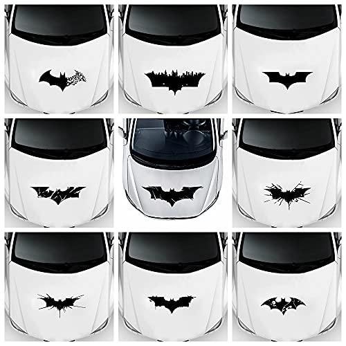 PMSMT Mignon Batman Autocollants Papier Peint Super-héros drôle fenêtre Vinyle décalcomanies Voiture-Style Auto-adhésif emblème Voiture Autocollant Accessoires