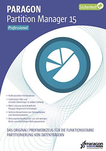 Paragon Partition Manager 15 Professional - PKC