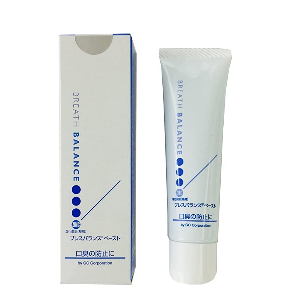 変色するベース適応的GC 口臭予防 歯磨き剤 ブレスバランス ペースト 28g 歯科用