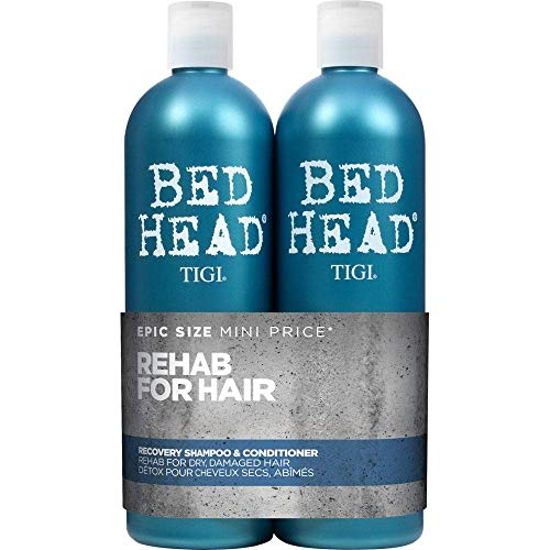 TIGI Bed Head Urban Antidotes Recovery Shampoo and Conditioner for Dry Hair 2 x 750 ml