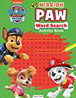 Paw Patrol Mission Paw Word Search Activity Book