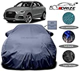 DRIZE™ Prime Quality 4x4 Imported Car Cover for Audi Q3 with PVC Coating Inside (Grey)