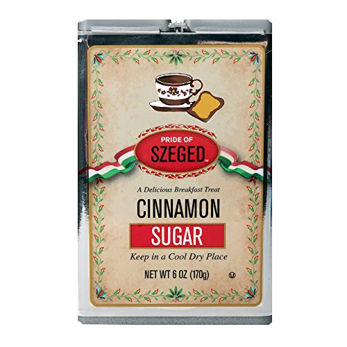 Szeged Cinnamon Sugar, 6 Ounce Container