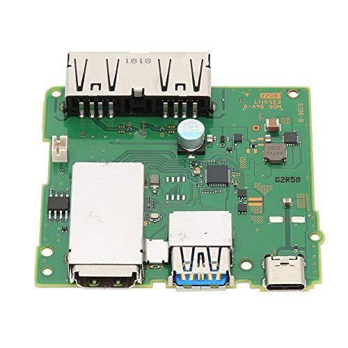 Leiterplatte Universal Docking Station Motherboard Tragbarer Kunststoff Einfach zu bedienende High Definition-Schnittstelle für Switch