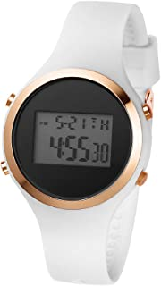 Women Digital Sports Watch, Waterproof Outdoor Running Watch for Girls Boys, Multi-Functional LED Casual Wrist Watches with Alarm