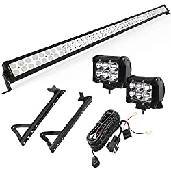 Yitamotor led light bar review off road lights for jeeps and 4x4s click for current price aloadofball Gallery