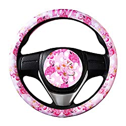flamingo themed gifts ~ car accessory