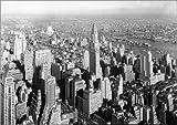 Poster 130 x 100 cm: New York 1932, Blick auf das Chrysler