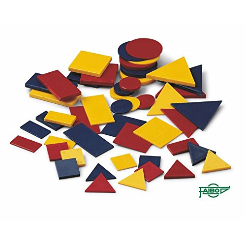 Conjunto Bloques Lógicos Plástico