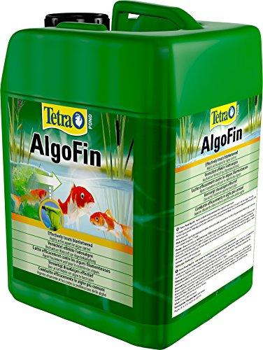 Tetra Pond AlgoFin (zur effektiven und sicheren Vernichtung von hartnäckigen Fadenalgen und anderen Algen im Gartenteich), 3 Liter Flasche - 4