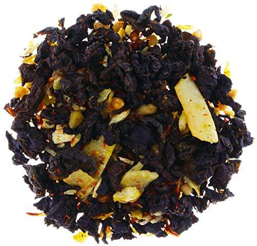 AURESA Oolong Sesam loser Tee | Mit geröstetem Reis, Sesam und Krokant | Nussig-süßer Geschmack mit feinen Röstaromen
