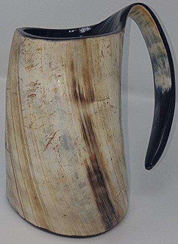 Palin natural hecho a mano Bebida taza grabada a mano Juego de tronos. Taza elegante y taza de vino y cerveza (6 pulgadas)