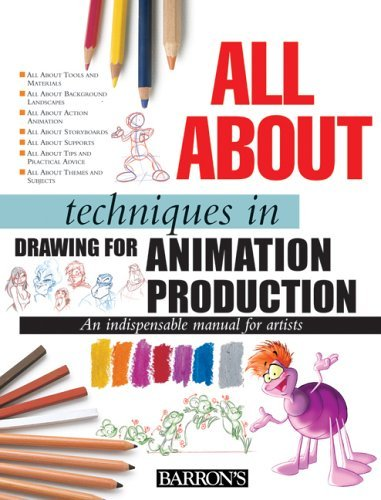 All about Techniques in Drawing for Animation Production (06) by Camara, Sergi [Hardcover (2006)]