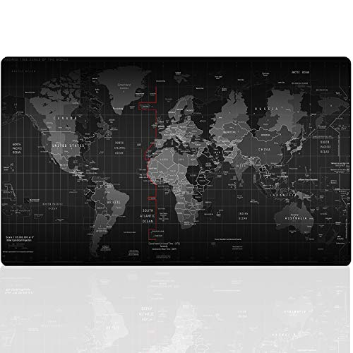 Cmhoo Gaming Mouse Pad Large Anti-Slip Rubber Base Size 35.4IN x 11.8IN (47.2X15.7IN, 120x40 Map)