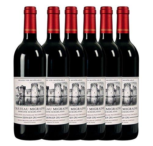 6 Flaschen Rotwein Château Migraine - Goldmedaille